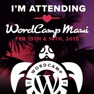 WordCamp Maui Attendee